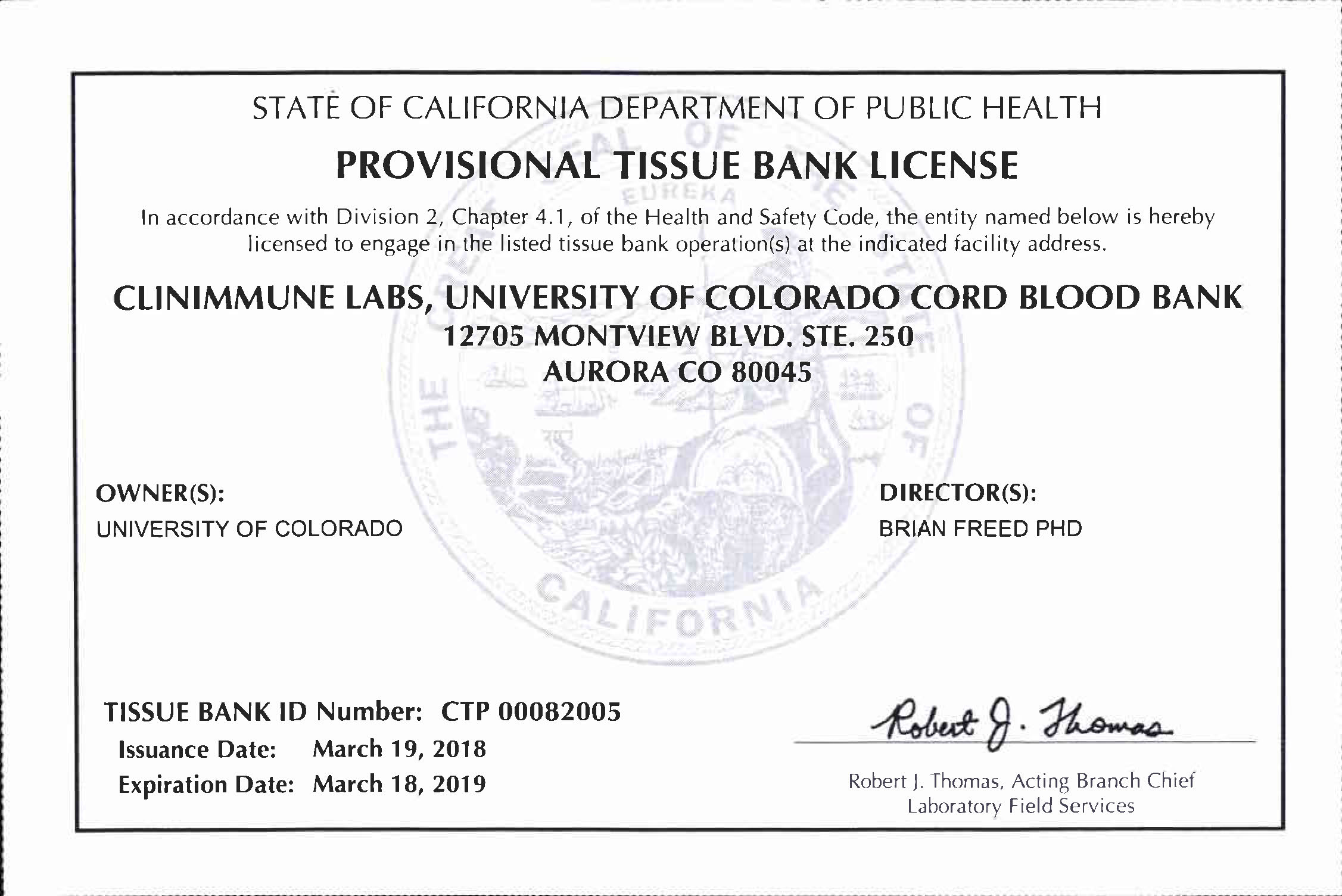California Department Of Health Services Licensing And Certification